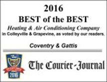 2016 Best of the Best Heating & Air Conditioning Company
