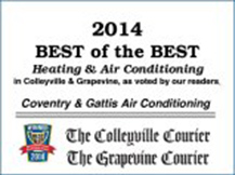2014 Best of the Best Heating & Air Conditioning Company